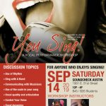 You Sing! Vocal Performance Workshop