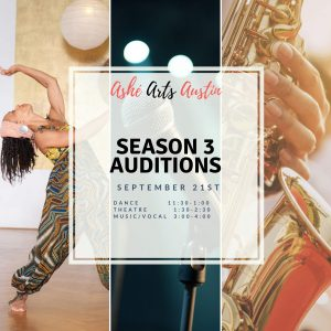 Ashe Arts Collective: Season 3 Auditions