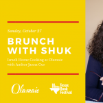 Brunch with Shuk: Israeli Home Cooking at Olamaie Benefitting Texas Book Festival