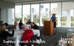 Sunday Brunch + Insights — Austin Opera