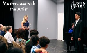 Masterclass with the Artist — Austin Opera