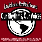 Our Rhythms, Our Voices/Nuestros Ritmos, Nuestras Voces