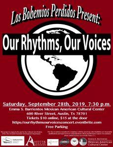 Our Rhythms, Our Voices/Nuestros Ritmos, Nuestras ...