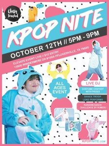 Kpop Nite All Ages 10/12