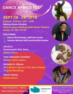 Dance Africa Fest 2019!