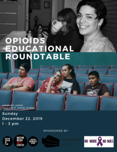 Opioids Educational Roundtable