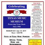 Focus on Texas Music Pioneers Program