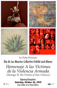 Día de Los Muertos Collective Exhibit and Altares