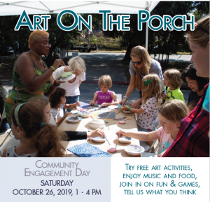 Art on the Porch: Community Engagement Day at the DAC