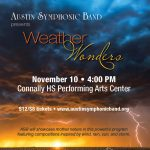 Austin Symphonic Band Presents: Weather Wonders