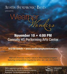 Austin Symphonic Band Presents: Weather Wonders