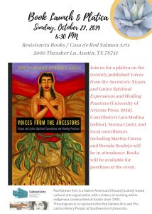 Voices from the Ancestors: Book Launch and Plátic...