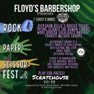 Rock Paper Scissor Fest