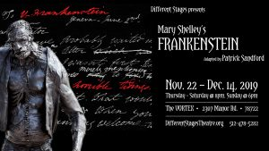 Mary Shelley's Frankenstein adapted by Patrick Sandford