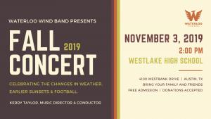 Waterloo Wind Band Fall Concert