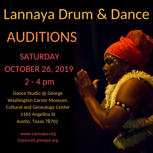 2019 AUDITIONS for dancers