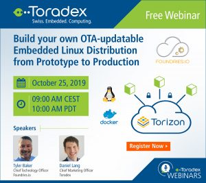 Build your own OTA-updatable Embedded Linux Distribution from Prototype to Production