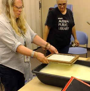 Forbidden papermaking of Spanish America