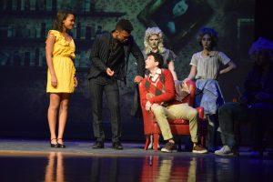 "Glenn High School's production of ""The Addams Family"""