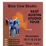 Blue Cow Studio at East Austin Studio Tour