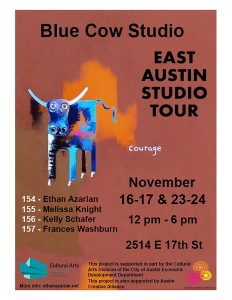 Blue Cow Studio at East Austin Studio Tour