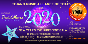 TMAT 2020 New Year's Eve Iridescent Gala