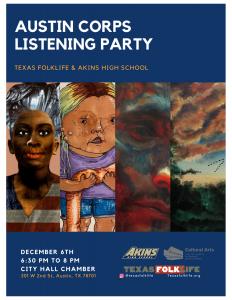 Austin Corps x Texas Folklife Listening Party