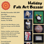 Holiday Folk Art Bazaar
