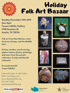 Holiday Folk Art Bazaar