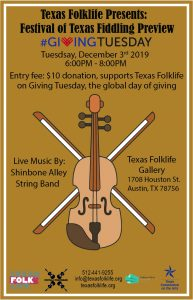 Festival of Texas Fiddling Preview