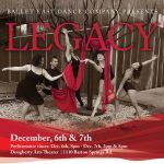 Ballet East Dance Company Fall 2019 Production - Legacy