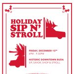 Holiday Sip N Stroll
