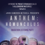 JOHN CAMERON MITCHELL PRESENTS THE ANTHEM: HOMUNCULUS LISTENING PARTY