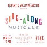 Gilbert & Sullivan Sing-Along Musicale
