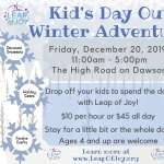 Kid's Day Out Winter Adventure