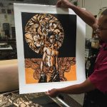 Soul: Melanated Life In Print -- PrintAustin Invitational Opening Reception