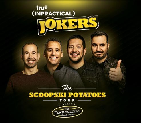 impractical jokers tour 2020