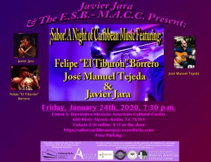 ¡Sabor! A Night of Caribbean Music at the ESB-MAC...