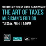 The Art of Taxes: Musician's Edition