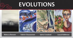 Evolutions Art Exhibit