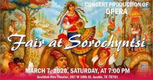 Modest Mussorgsky, Concert production of opera - Fair at Sorochyntsi