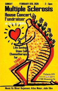 Multiple Sclerosis Fundraiser House Concert For Tawny Thomson-Bush