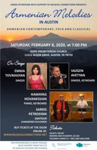 Armenian Melodies in Austin