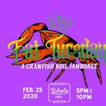 Scholz Garten 2nd Annual Fat Tuesday Crawfish Boil