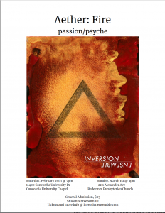 Inversion Ensemble presents Aether: Fire—passion...