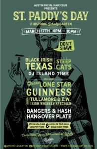St. Paddy's Day at Historic Scholz Garten