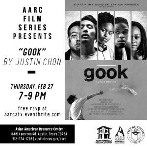 AARC Film Series Presents: Justin Chon's Gook