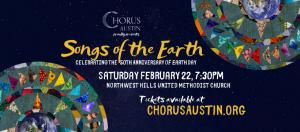 Chorus Austin, Songs of the Earth