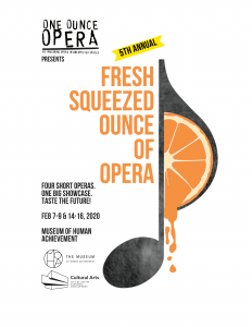 5th Annual Fresh Squeezed Ounce of Opera