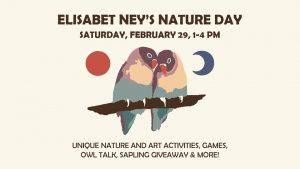 Elisabet Ney's Nature Day!